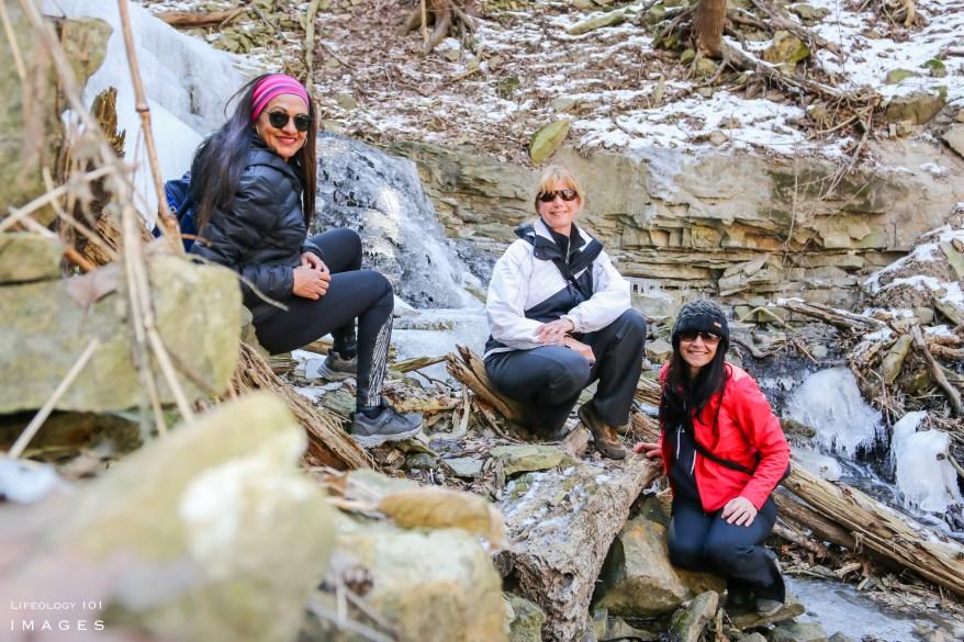 Ontario, Waterfalls, Hiking, Trails, Group,