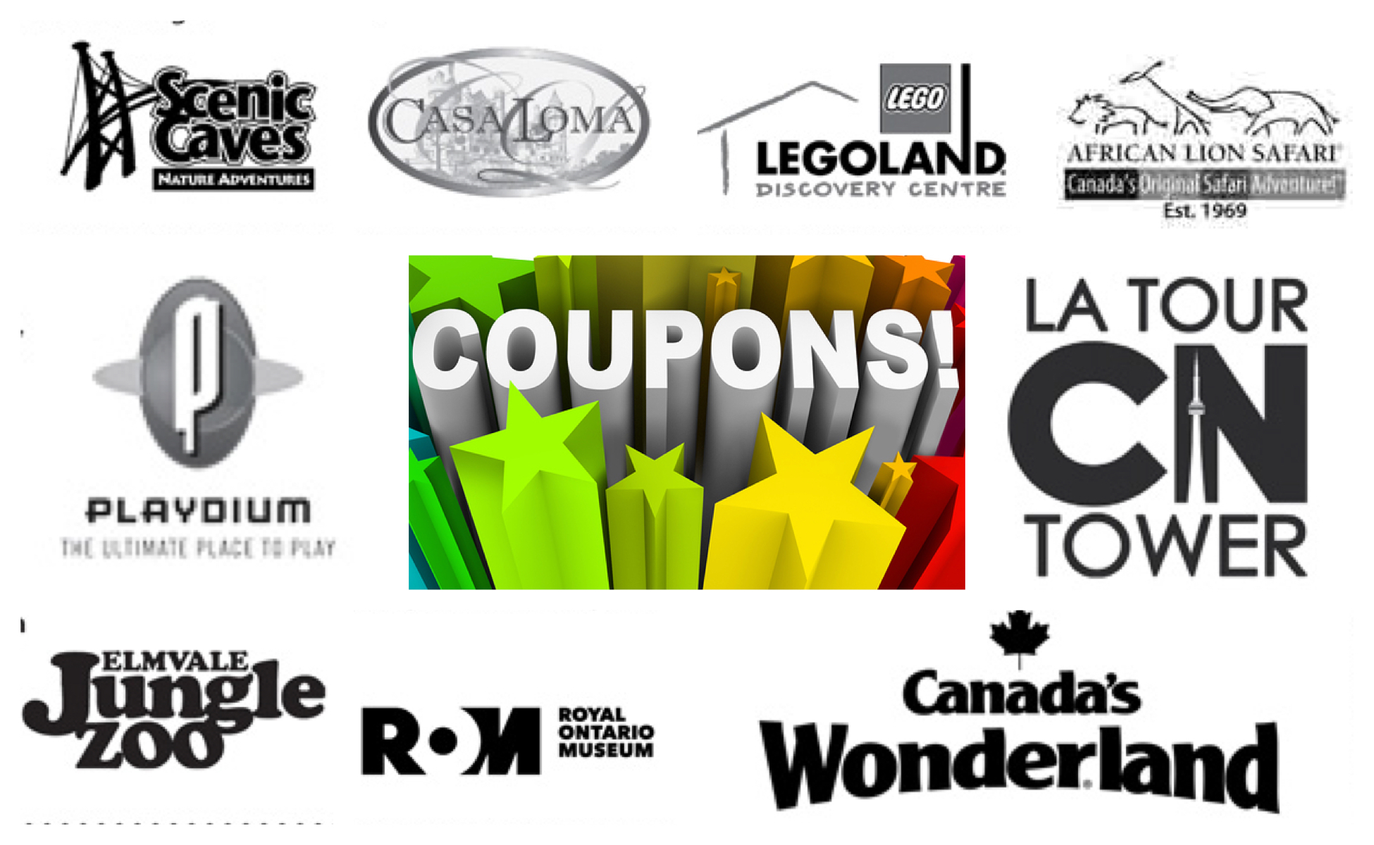 graphic relating to Royal Buffet Printable Coupons referred to as Ontario Points of interest Printable Discount codes 2018 2019