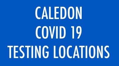 Caledon Covid 19 Testing Locations