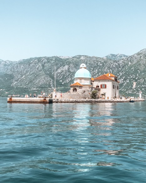 Lady of the Rock in Kotor