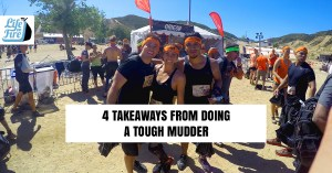 an image of 4 takeaways from doing a though mudder