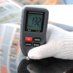 r&d coating gauge meter