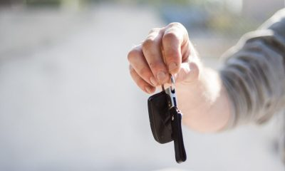 leasing a vehicle and getting the keys