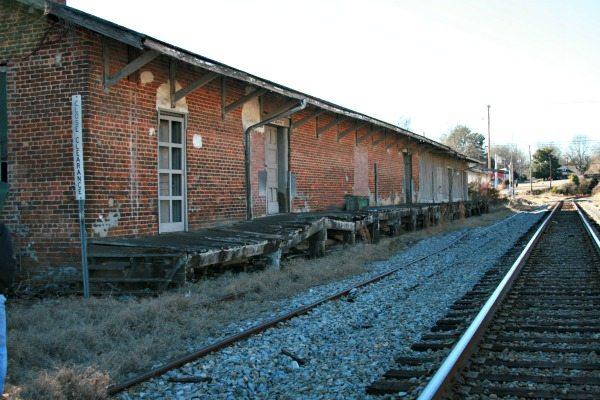 Abandonded Train Depot