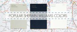 POPULAR SHERWIN WILLIAMS PAINT COLORS