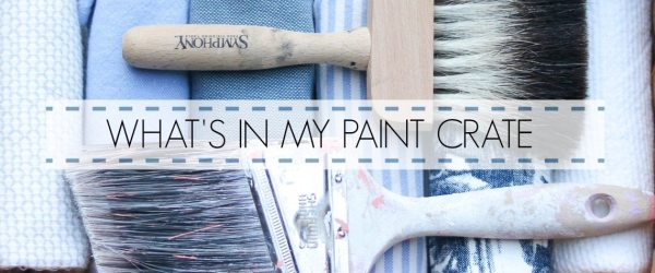 WHAT'S IN MY PAINT CRATE