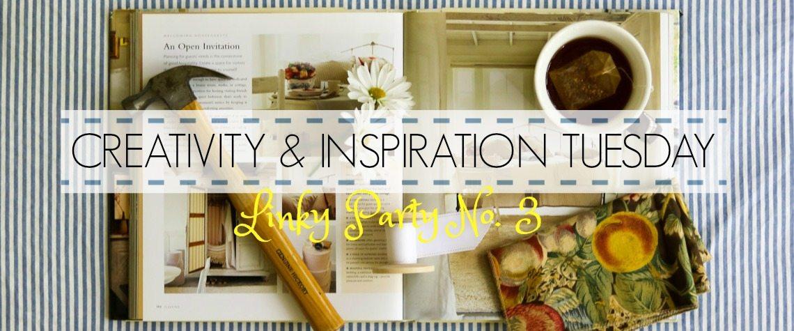 CREATIVITY & INSPIRATION TUESDAY {No. 3}