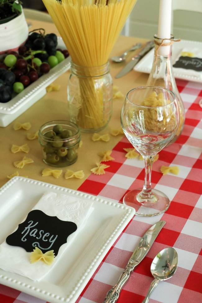 Italian Dinner Party Styling Inspiration