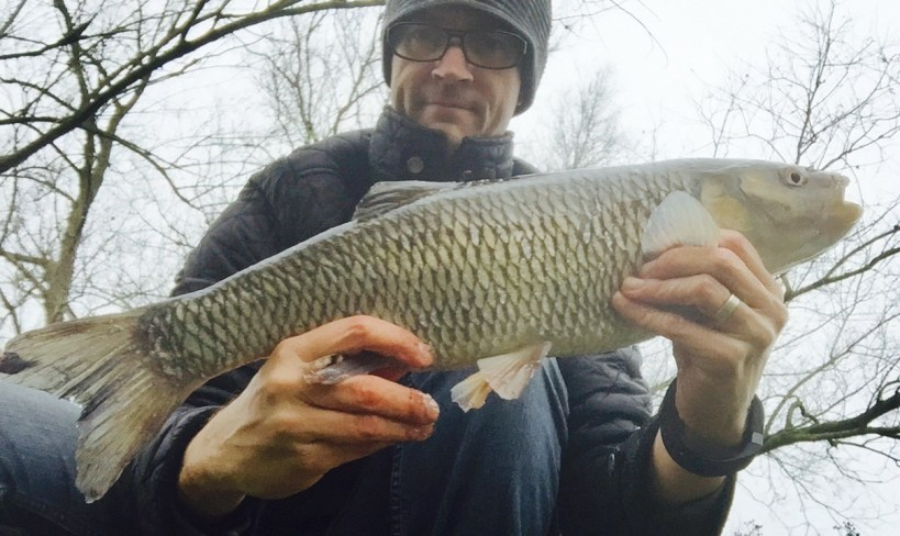 chub fishing old river lee lea