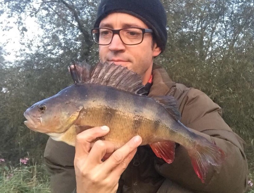 perch from the river lea