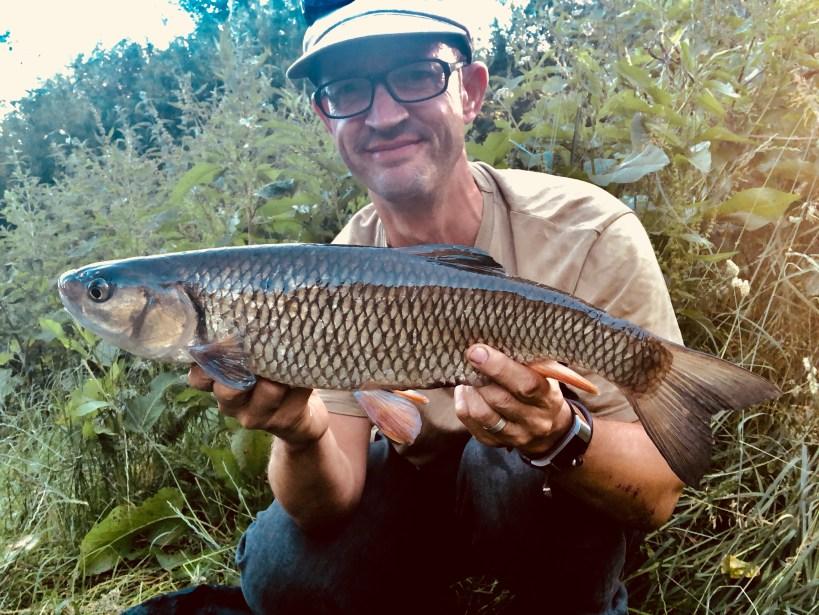 chub fishing upper river lea