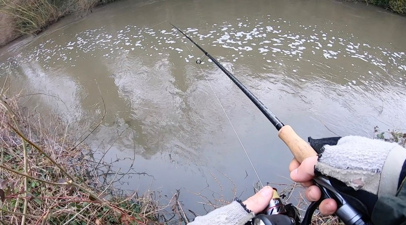 Lures in flood water