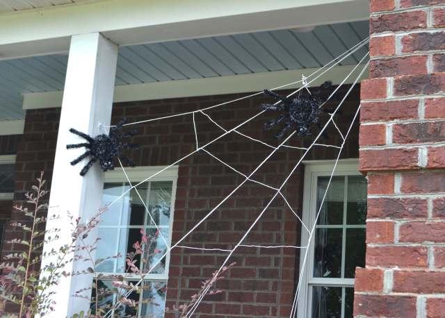 spooky-spider-web-porch