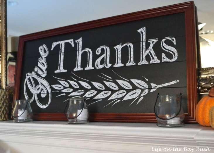 Thanksgiving Mantel Decorating Ideas