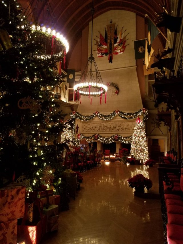 Visiting the Biltmore at Christmas is on my bucket list. After looking at all these gorgeous pictures I can't wait to visit!