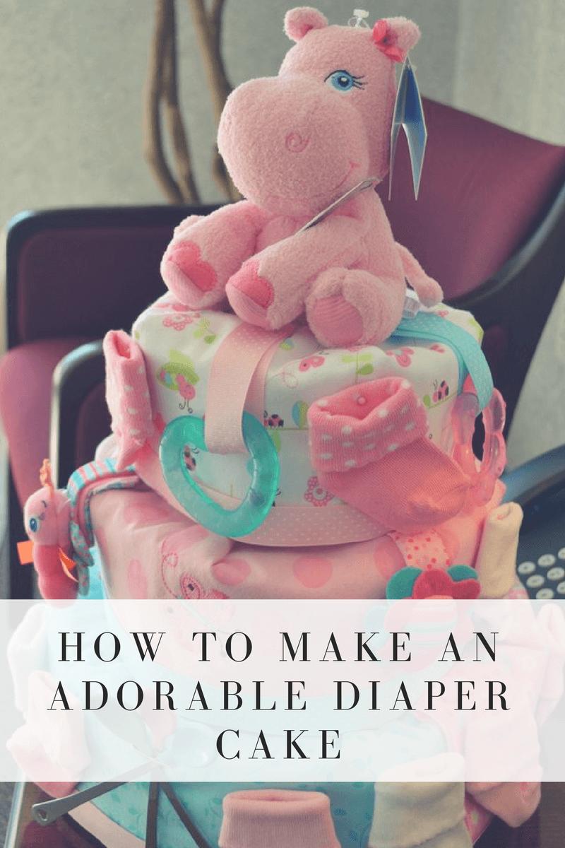 DIY Diaper Cake