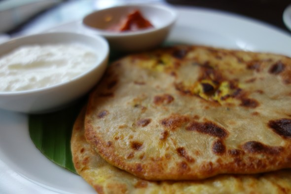 Indian-style breakfast