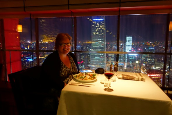 Dinner for one at Park Hyatt Beijing