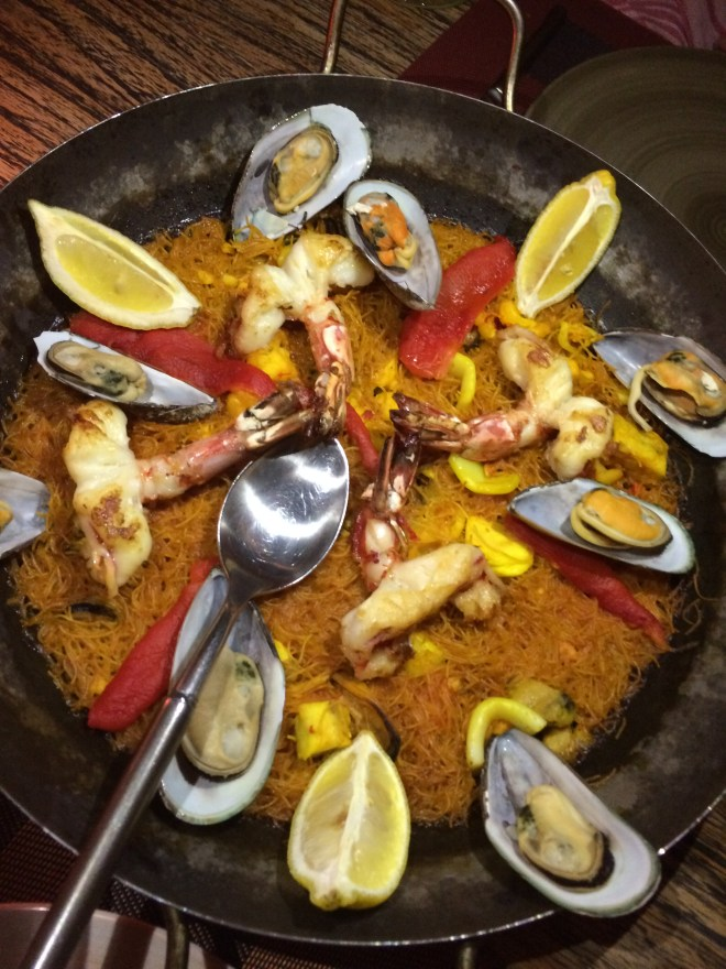 Paella but not as you know it