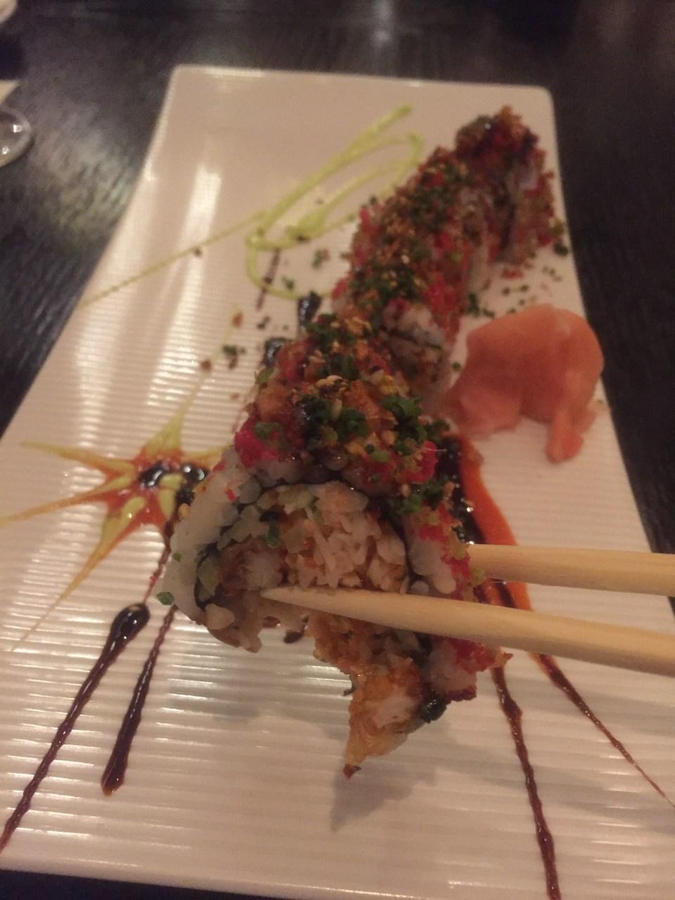 sushi, qatar food blog, life on the wedge