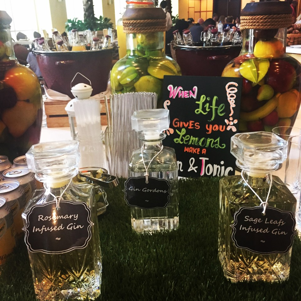 gin infusion life on the wedge food blog qatar