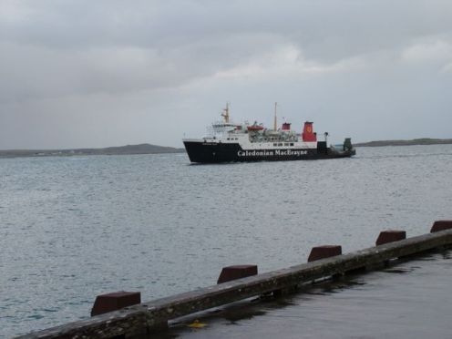 MV Hebrides Approaches