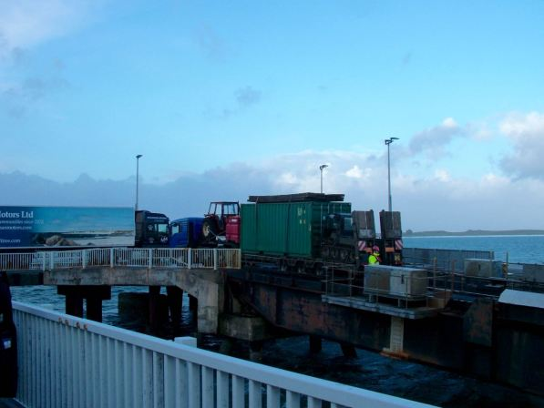 A busy Pier - coming and going