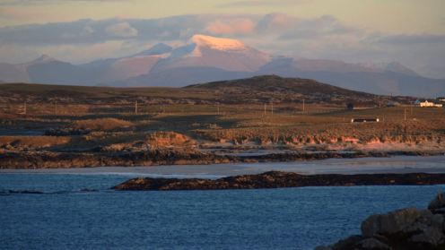 Looking from Vaul to Ben More on Mull