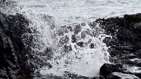 The blow hole at Sandaig