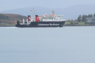 Lord of the Isles sets sail for Tiree
