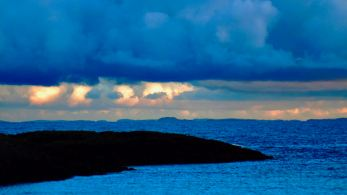 The Ross of Mull from Scarinish Harbour