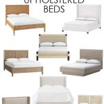 Wood Cane Upholstered Beds Life On Virginia Street