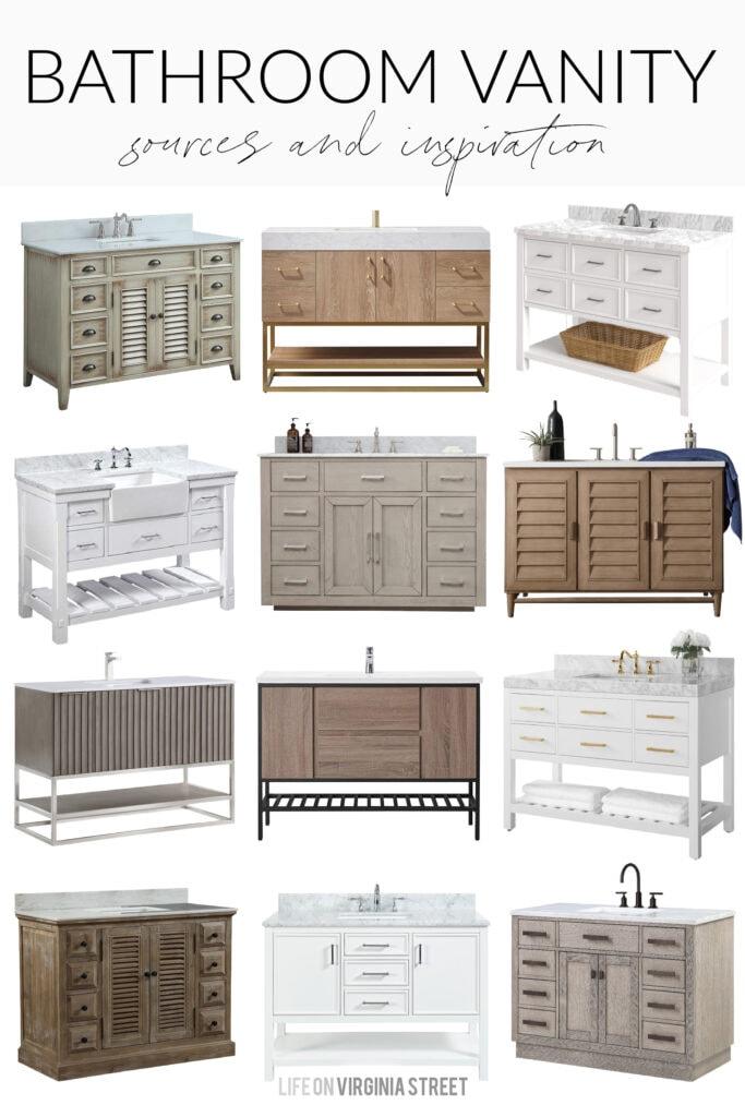 48 bathroom vanity ideas life on