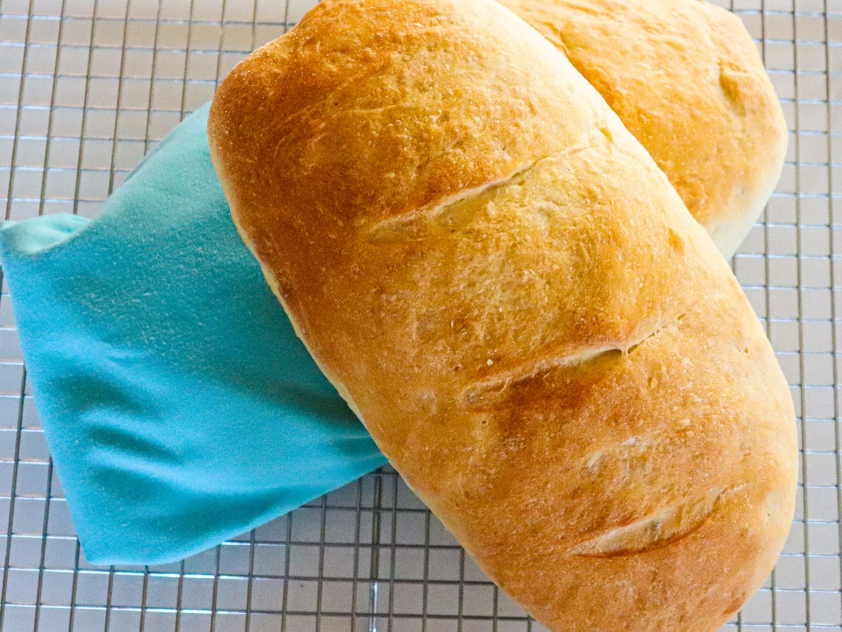 Easy Yeast Bread Perfect for Beginners, final product