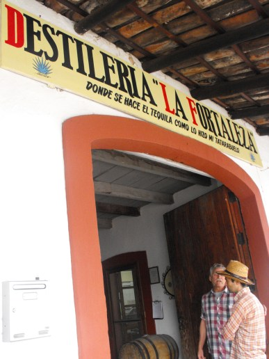 Entry way to distillery