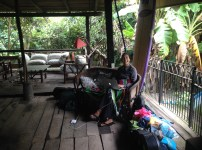 Our open-air living room