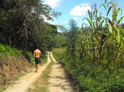 "Hike to the ""big"" waterfall"
