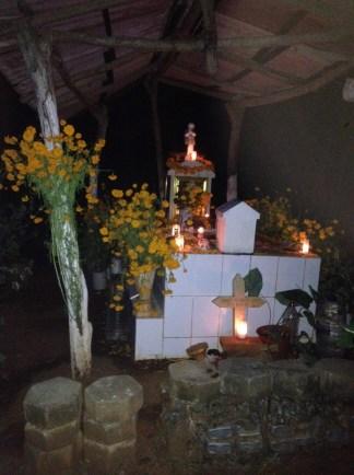 Cemetery in Mazunte