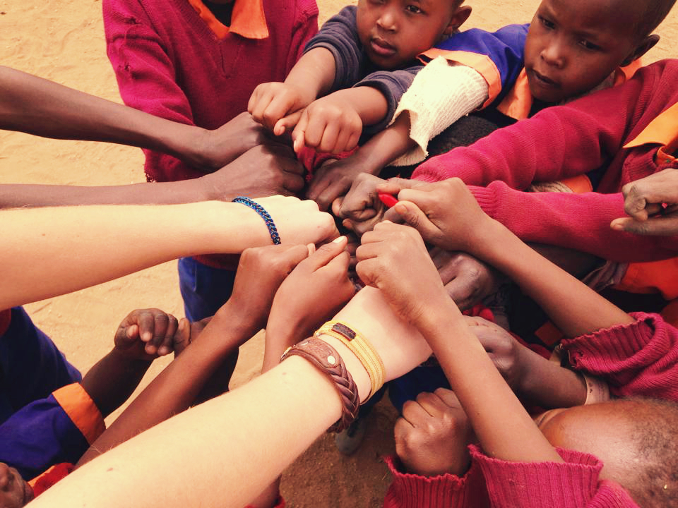 Life Out of the Box: Giving in Kenya