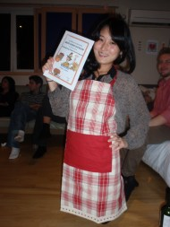 Stella won the Top Turkey Award for her Clam Chowder.