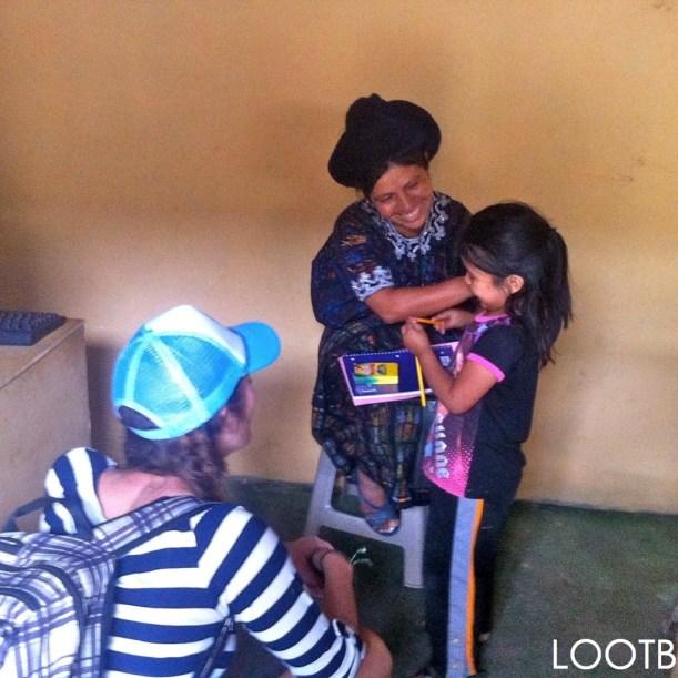 LOOTB Gives in Santa Catarina, Guatemala. Life Out of the Box.