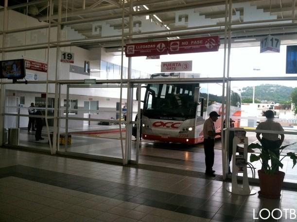 Overnight bus from San Cristobal to Oaxaca