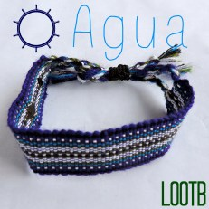 Life Out of the Box bracelet Agua available on lootb.com. LOOTB.