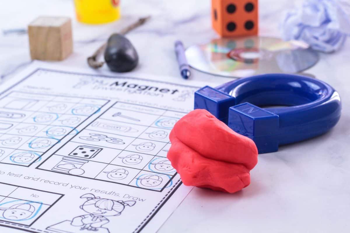 Preschool Magnet Activity And Stem Investigation Printable
