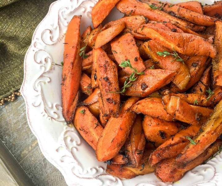 Roasted Curried Carrots Recipe