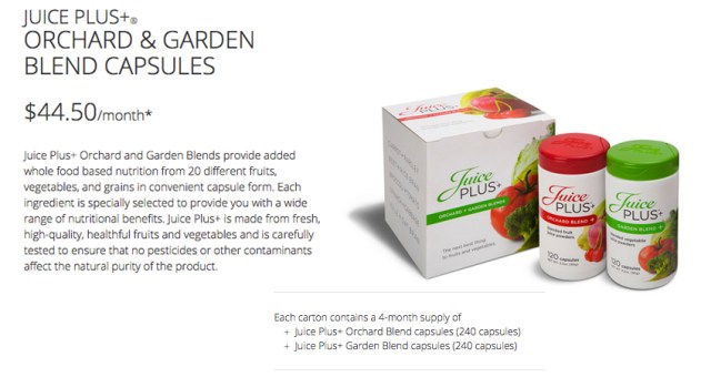 orchard and gardencapsules