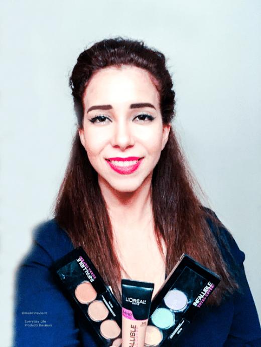 Loreal Infallible makeup Review