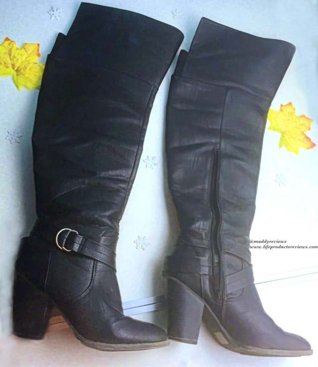 winter leather stylish boots