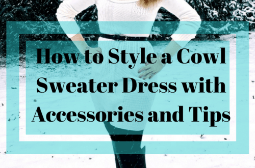 How-to-style-a-cowl-neck-sweater-dress-with-accersories-and-tips