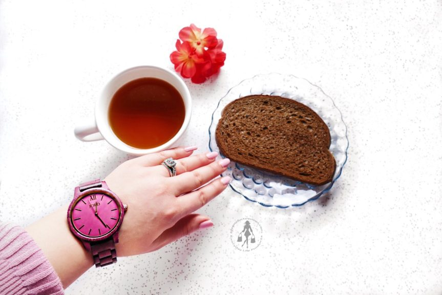 JORD-Pink-Red-tone-wooden-watch-best-logo